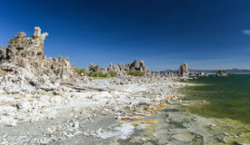 Tufa Formation in Mono Lake, California Royalty Free Stock Image