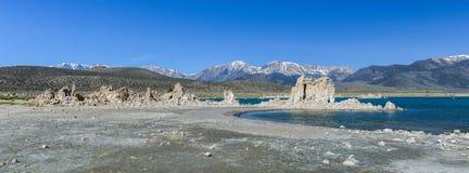 Tufa Formation in Mono Lake, California Stock Image