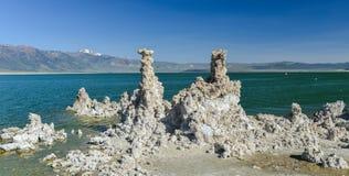 Tufa Formation in Mono Lake, California Stock Photography