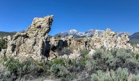 Tufa Formation in Mono Lake, California Royalty Free Stock Photography