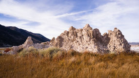 Tufa Formation Mono lake Shores Nature Landscape Royalty Free Stock Photography