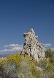 Tufa formation near the Mono Lake Royalty Free Stock Photos