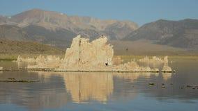 Tufa Formation on Scenic Mono Lake California stock video