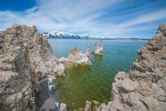 Tufa Formations Mono Lake Royalty Free Stock Images