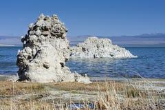 Tufa, mono lake, CA Stock Image