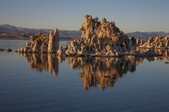 Tufa at Mono Lake, California stock images