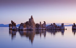 Tufa Reflections Stock Images