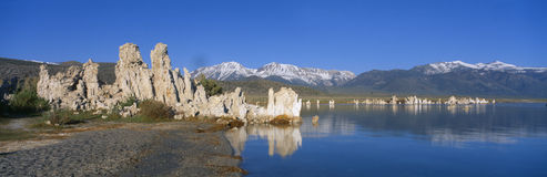 Tufa rock formations Royalty Free Stock Photography