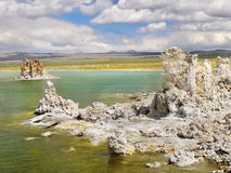 Tufa Towers, Mono Lake, California. Amazing tufa towers at Mono Lake, State Natural Reserve. California Royalty Free Stock Photo