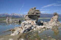 Tufa vormingen bij Monomeer, Californië royalty-vrije stock foto's