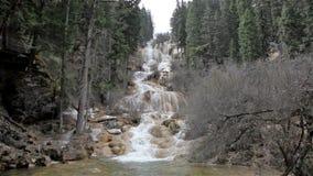 Tufa Waterfall stock video