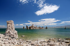 Tufas at Mono Lake. Royalty Free Stock Images