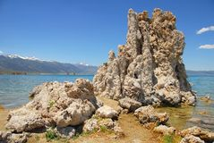 Tufas at Mono Lake Stock Image