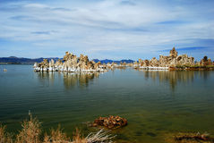 Tufas at Mono Lake Royalty Free Stock Images