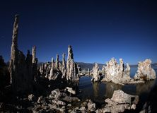 Tufas of Mono Lake Califonia Stock Photo