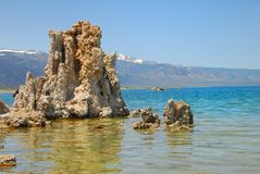 Tufas at Mono Lake Stock Images