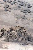 tuff предпосылки вулканический Стоковая Фотография RF