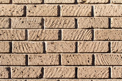 Tuff bricks wall Stock Photo