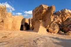 Tuff cave, Sicily Royalty Free Stock Photo
