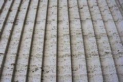 Tuff is een vulcanic steen De historische gebouwen in worden gemaakt van het Stock Foto