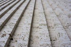 Tuff is een vulcanic steen De historische gebouwen in worden gemaakt van het Stock Afbeeldingen