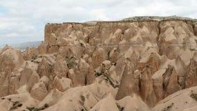 Tuff kamienne formacje zdjęcie wideo