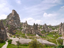 Tuff landscape, Turkey Royalty Free Stock Photo
