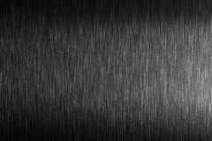 Tuff metall Borstad metall med hård reflexion Arkivbilder