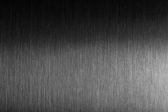 Tuff metall Borstad metall med hård reflexion Fotografering för Bildbyråer