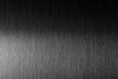 Tuff metall Borstad metall med hård reflexion Arkivbild