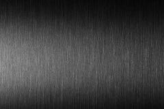 Tuff metall Borstad metall med hård reflexion Arkivfoto