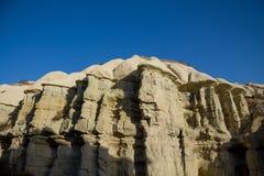 Cappadocia tuff formations landscape Stock Images