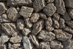 Tuff stones Stock Photos