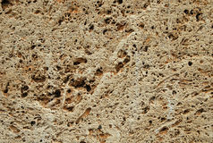 Tuff texture. Tuff is a vulcanic stone. most of the historical buildings in the tuscany are made from it royalty free stock photo