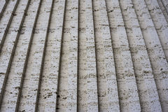 Tuff is a vulcanic stone. Historical buildings in the are made from it. Stock Photo