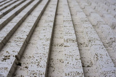 Tuff is a vulcanic stone. Historical buildings in the are made from it. Stock Images