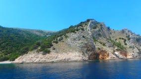 Tuffarsi la Croazia fotografia stock