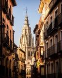 Tuffi Toletana in Toledo Spain fotografia stock libera da diritti