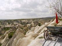 Tufflandskap, Turkiet Royaltyfria Bilder