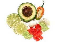 Tuffo del Guacamole Fotografia Stock