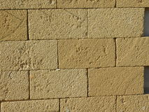 Tuffs glued to the wall Royalty Free Stock Photo