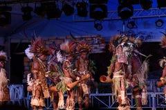 Tufi plemię przy Lo Spirito Del Pianeta BG 01-06-2018 Obraz Stock