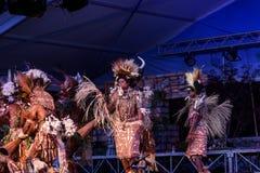 Tufi plemię przy Lo Spirito Del Pianeta BG 01-06-2018 Obraz Royalty Free