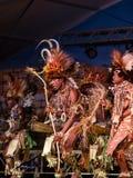 Tufi plemię przy Lo Spirito Del Pianeta BG 01-06-2018 Fotografia Stock