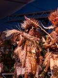 Tufi plemię przy Lo Spirito Del Pianeta BG 01-06-2018 Zdjęcia Royalty Free