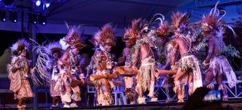 Tufi plemię przy Lo Spirito Del Pianeta BG 01-06-2018 Zdjęcie Stock