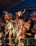 Tufi plemię przy Lo Spirito Del Pianeta BG 01-06-2018 Zdjęcie Royalty Free