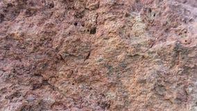 Tufo de pedra vermelho de Filipowice do fundo da textura Fotografia de Stock