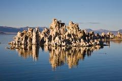Tufo nel mono lago, California Immagine Stock Libera da Diritti