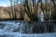 Tufs vattenfall Royaltyfri Foto